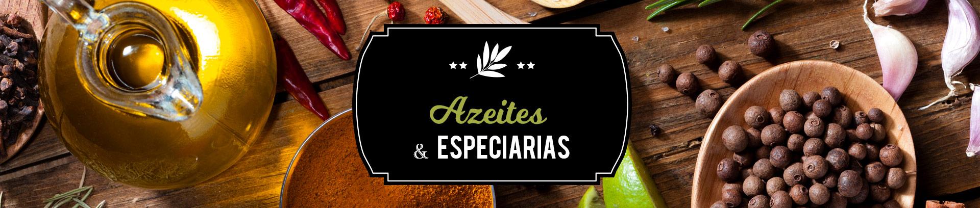 Azeites e especiarias