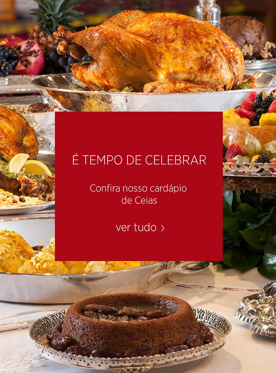 Mobile | Cardápio de Ceias
