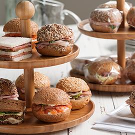 Mini-sanduíches